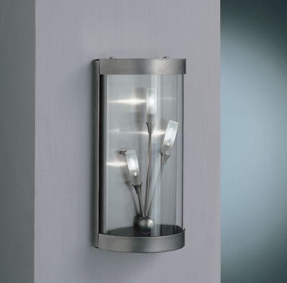 Iluminacion exterior inox